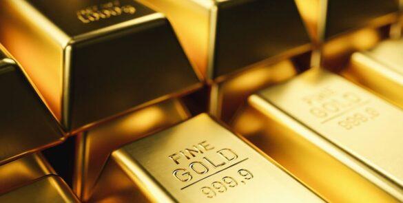 gold bars in Dubai, UAE
