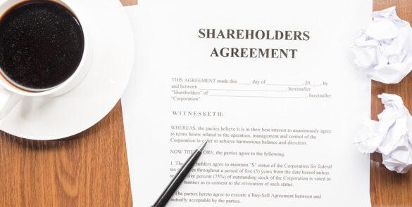 Shareholder agreement services in Dubai, UAE
